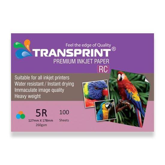 Picture of TRANSPRINT PREMIUM INKJET PAPER RC 5R
