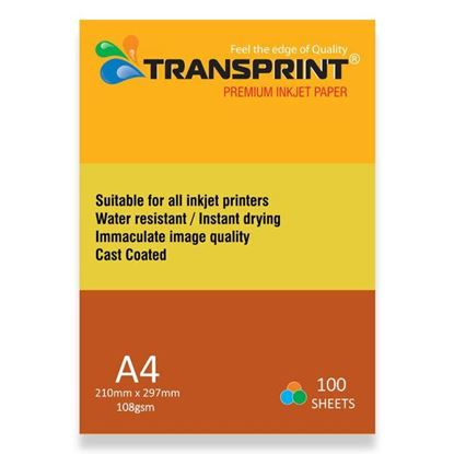 Picture of PREMIUM INKJET PAPER CC GLOSSY 108gsm