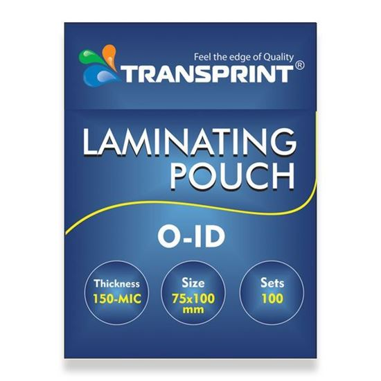 Picture of TRANSPRINT LAMINATING POUCH O-ID 150-MIC