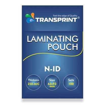 Picture of TRANSPRINT LAMINATING POUCH N-ID 250-MIC